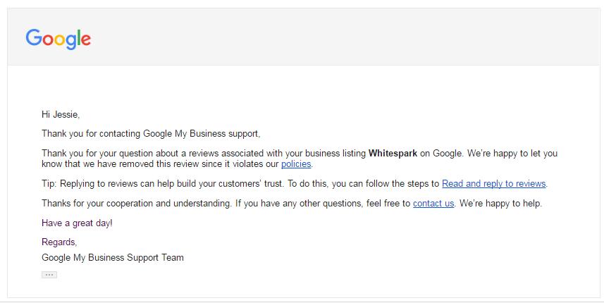 How to Remove Fake Google Reviews - Whitespark