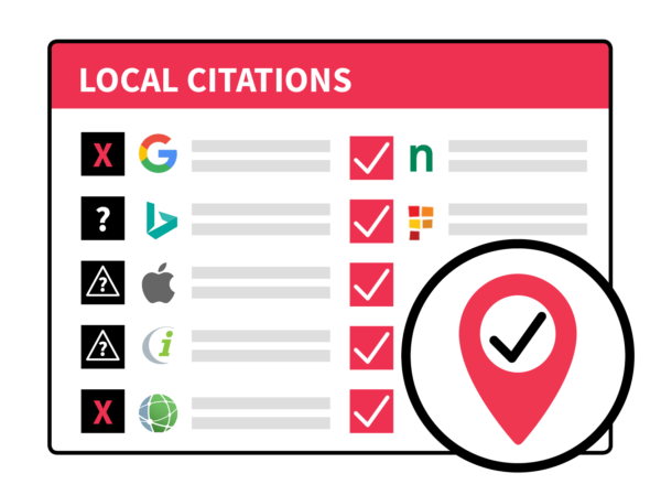 Citation Audit and Cleanup Graphic