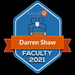 Darren S Faculty 2021